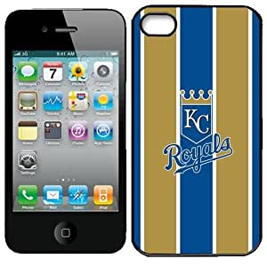 MLB Kansas City Royals Iphone 4 and 4s Case Cover