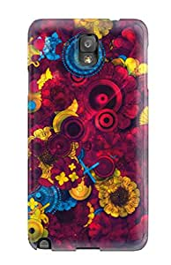 Premium Galaxy Note 3 Case - Protective Skin - High Quality For Psychedelic