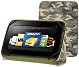 PUNCHCASE By Leslie Hsu Ace Zip Around Standing Case, Green Camouflage (Made for Kindle Fire HD 8.9″), Best Gadgets