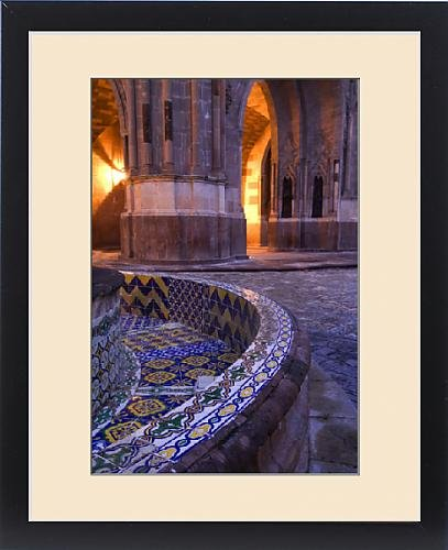 Framed Print of Mexico, San Miguel de Allende, The Parroquia Church, The Jardin, Tile and by Fine Art Storehouse