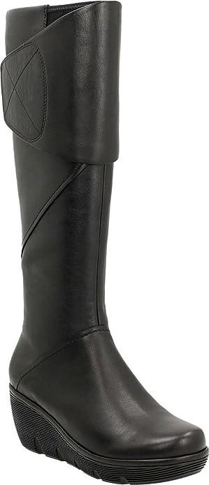 86f075d2667 Clarks Women s Clarene Wake Knee High Boot