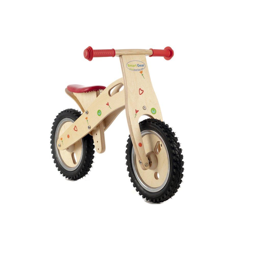 Floral Hearts Balance Bike Toys Games