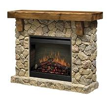 Dimplex Fieldstone Electric Fireplace Mantel