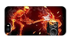 Hipster Rock And Roll Laser Technology Cell Phone Cases For Case Iphone 5/5S Cover (5.5 Inch Screen)