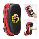 Overmont Taekwondo Kick Pads Boxing Karate Pad PU Leather