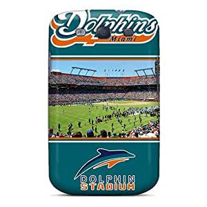 Hot Style DsI1663yNhQ Protective Case Cover For Galaxys3(miami Dolphins)