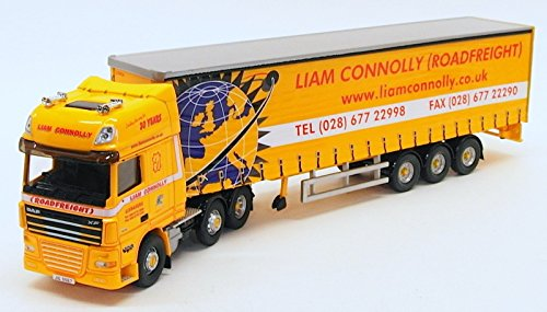 DAF 105 Curtainside-Liam Connolly-Northern Ireland