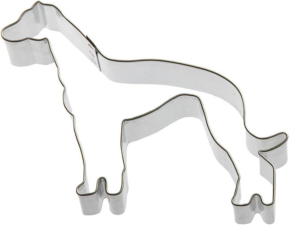 Foose Greyhound Cookie Cutter 4.5 in