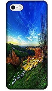Fantastic Faye The Beautiful Wallpaper Design With Nature Scenery Dream Flower Cell Phone Cases For iPhone 5C No.9