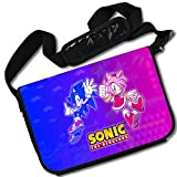 MovieWallscrolls Sonic the Hedgehog Video Game Stylish Laptop Messenger Bag (15 x 11) Inches [MB] Sonic Hedgeghog- 17