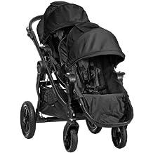 Baby Jogger City Select Black Frame Stroller w/ 2nd Seat, Black