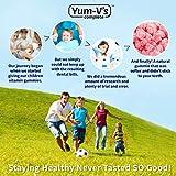 YumVs Complete Glucose Gummies, Orange
