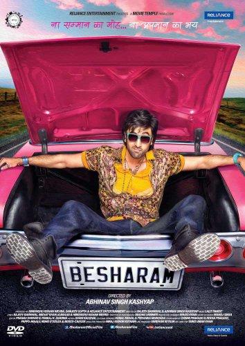 Besharam Hindi DVD (2013) Bollywood Hindi Film Stg: Ranbir Kapoor, Pallavi Sharda, Jaaved Jaaferi, Rishi Kapoor, Neetu Singh, Amitosh Nagpal