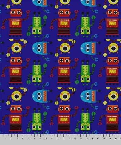 Premium Anti-Pill Artists Of Kolea Robots Fleece ()