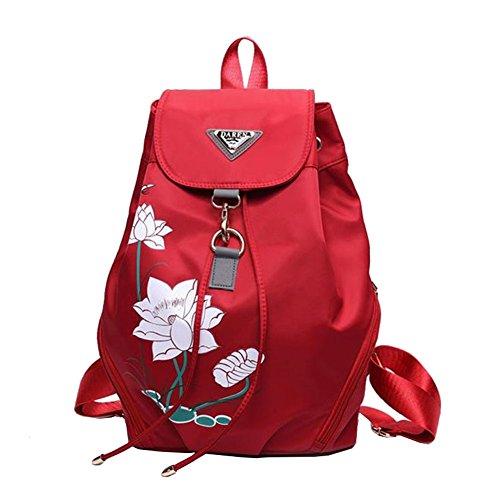 Ankena - Bolso mochila  para mujer red