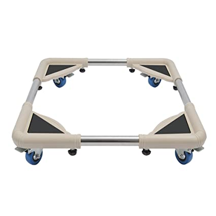 Muebles telescópicos de la base móvil de múltiples funciones Rodillo de la plataforma ajustable con 4