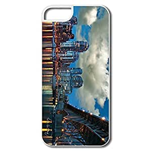 IPhone 5 Cases, Granville Island Cover For IPhone 5/5S - White Hard Plastic