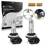 honda civic 1997 fog lights - Partsam 2x 25W White 881 886 896 High Power 6000K Super Bright LED Fog Driving Light For Ford