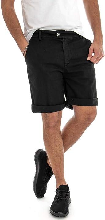 Giosal - Pantalón Corto de algodón para Hombre, con Bolsillo ...
