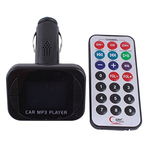 Cutting Edge Bargains CEB-5000060063 Automotive Car MP3/FM Converter Modulator with Wireless Controller