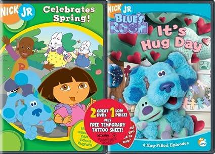 Nick Jr Celebrates Spring & Blue\'s Clues: Hug Day DVD Region 1 US ...