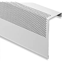Baseboarders 3' Length BASIC Slip-On Baseboard Heater Cover