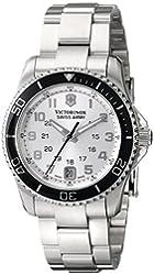 Victorinox Unisex 241482 Maverick Analog Display Swiss Quartz Silver Watch