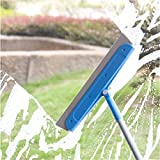 18'' Professional ceramic tile Mop Scraper Bathroom Shower Doors, Window and Mirror Wipers Tile Floor Wall Cleaners, Lightweight and Quick Removal of Stains Exclusive Patents