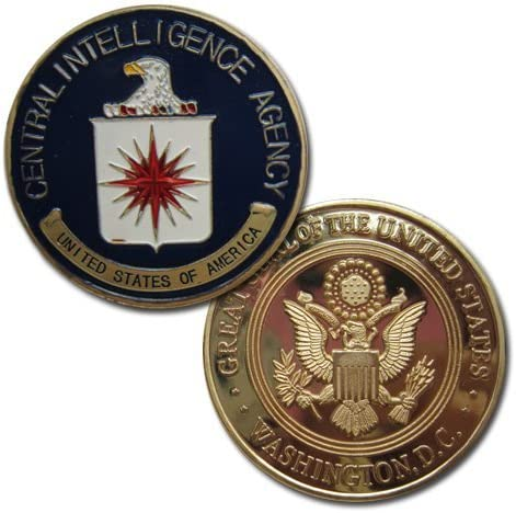 lovesports2013 CIA Challenge Coin