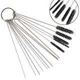 Kyпить Acarte Carburetor Carbon Dirt Jet Cleaner Tool Kit 10 Cleaning Needles with 5 Brushes на Amazon.com