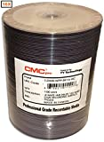CMC Pro (TY Technology) 16X 4.7GB White Inkjet Hub DVD-R With Hard Coat Recording Surface (Scratch Protection) 100-Pak in Tapewrap