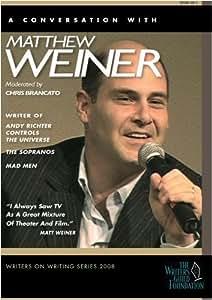 Matthew Weiner - Writers on Writing