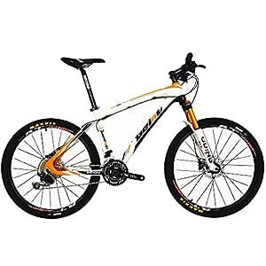 BEIOU® Fibra de Carbono para Bicicleta de montaña Hardtail MTB ...