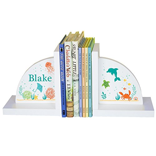 Personalized Bookends (Children's Personalized SeaLife Bookends)