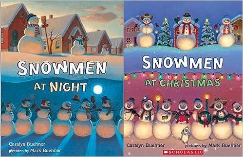 Snowmen At Christmas.Snowmen At Christmas Snowmen At Night 2 Book Set