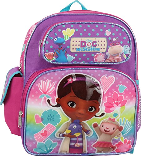"Price comparison product image Disney Doc McStuffins Toddler 12"" Backpack"