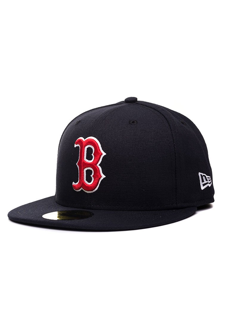 f2d97883265 New Era Cap MLB Authentic Boston Red Sox 59 FIFTY Fitted Adult Baseball Cap   Amazon.co.uk  Sports   Outdoors