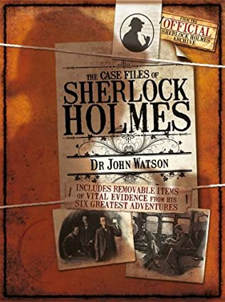 book cover of The Case Notes of Sherlock Holmes
