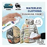 Household Stain Dry Remover Spray,Rinse-Free Cleansing Spray,Waterless Clothing Cleansing Foam,Down Jacket,Powerful All-Purpose Removing Stain Removing for Carpet,Sofas,Quilt,Curtains (White)