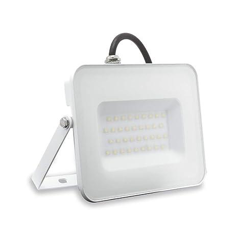 Cremallera Foco Proyector LED luz Natural 4000 K 50 W 4500 lúmenes ...