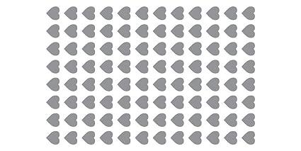 Decoración Stencil parrilla - diseño de corazón: Amazon.es ...