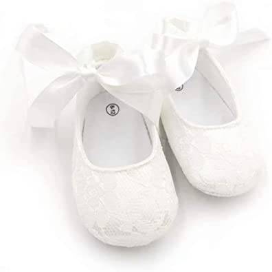 Baby Girl Newborn White Lace Butterfly