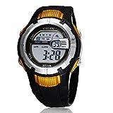 OHSEN Brand Digital Alarm Colors Backlight Boys Children Sport Wrist Watch