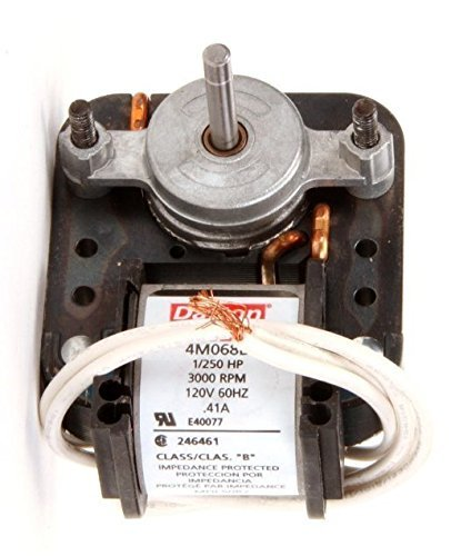 Dayton 4M068 C-Frame Motor, Shaded Pole, Sleeve, 1'' L