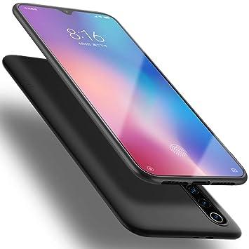 X-level Funda para Xiaomi Mi 9, Carcasa para Xiaomi Mi 9 Suave TPU Gel Silicona Ultra Fina Anti-Arañazos y Protección a Bordes Funda Phone Case para ...