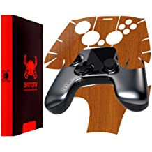Skinomi TechSkin - OUYA Controller - Light Wood Full Body Skin Protector / Front & Back Premium HD Clear Film / Ultra Invisible and Anti Bubble Crystal Shield