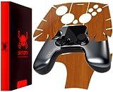 Skinomi Ouya Controller Light Wood Full Body, TechSkin Light Wood Skin for Ouya Controller
