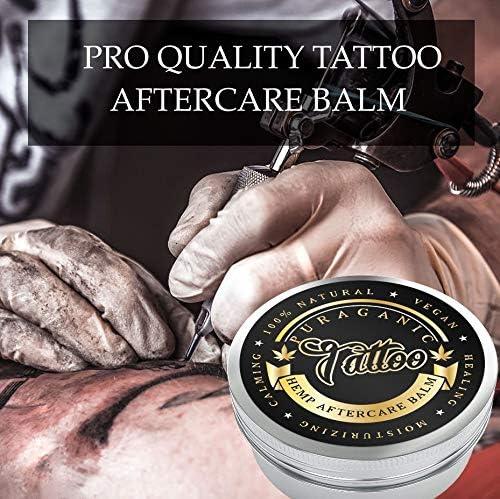 Puraganic Hemp Tattoo Aftercare Balm Crema Calmante Post Tatuaje ...