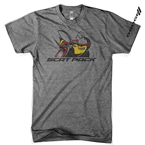 Men's Dodge Scat Pack Triblend T-Shirt, Made in Detroit (Large) ()