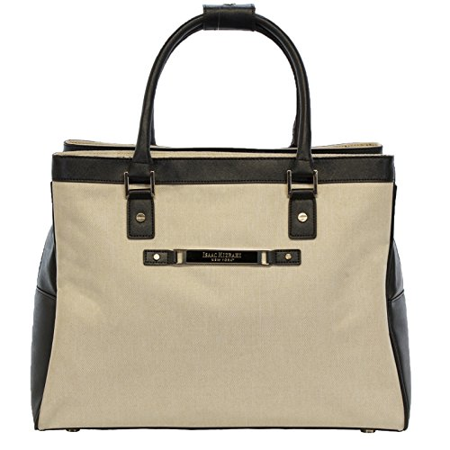 (Isaac Mizrahi Fremont Collection Deluxe 17-inch Laptop Shopper Tote )